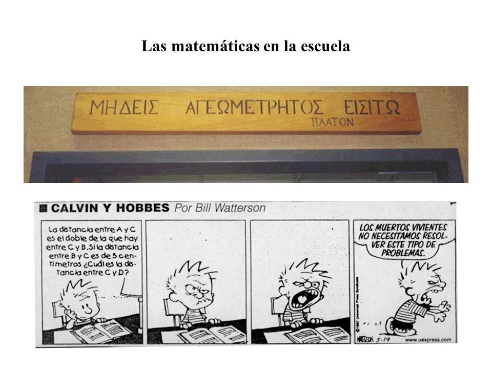 La imagen social de las matemáticas