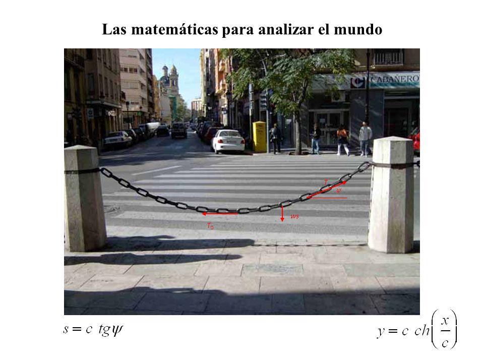 Las matemáticas para analizar el mundo ψ ws T0T0 T