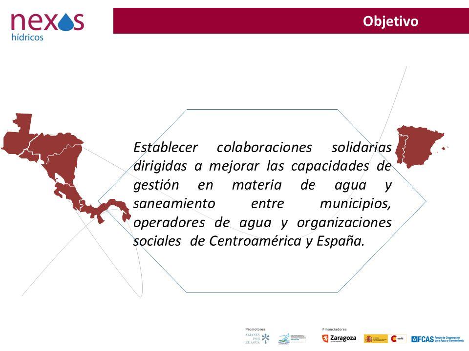 32 Establecer colaboraciones solidarias dirigidas a mejorar las capacidades de gestión en materia de agua y saneamiento entre municipios, operadores d