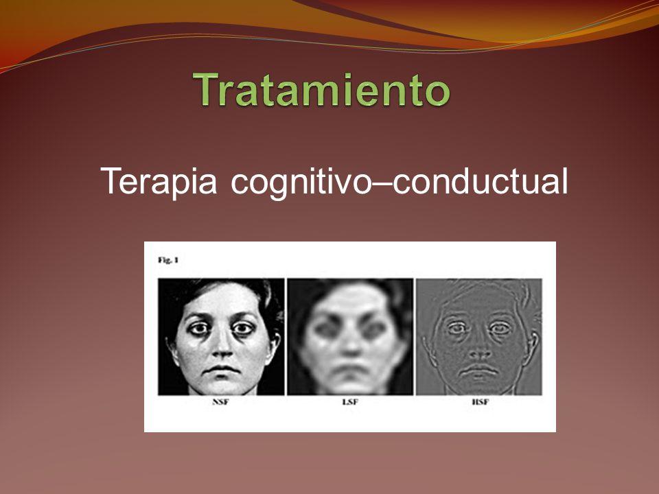 Los pacientes con TDC desarrollan alteraciones graves del estilo de vida Se avergüenzan de su apariencia.