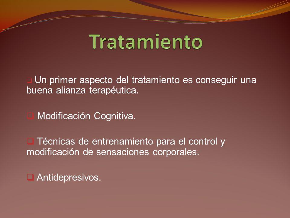 En el trastorno de pánico también existen preocupaciones hipocondriacas sin embargo son secundarias.