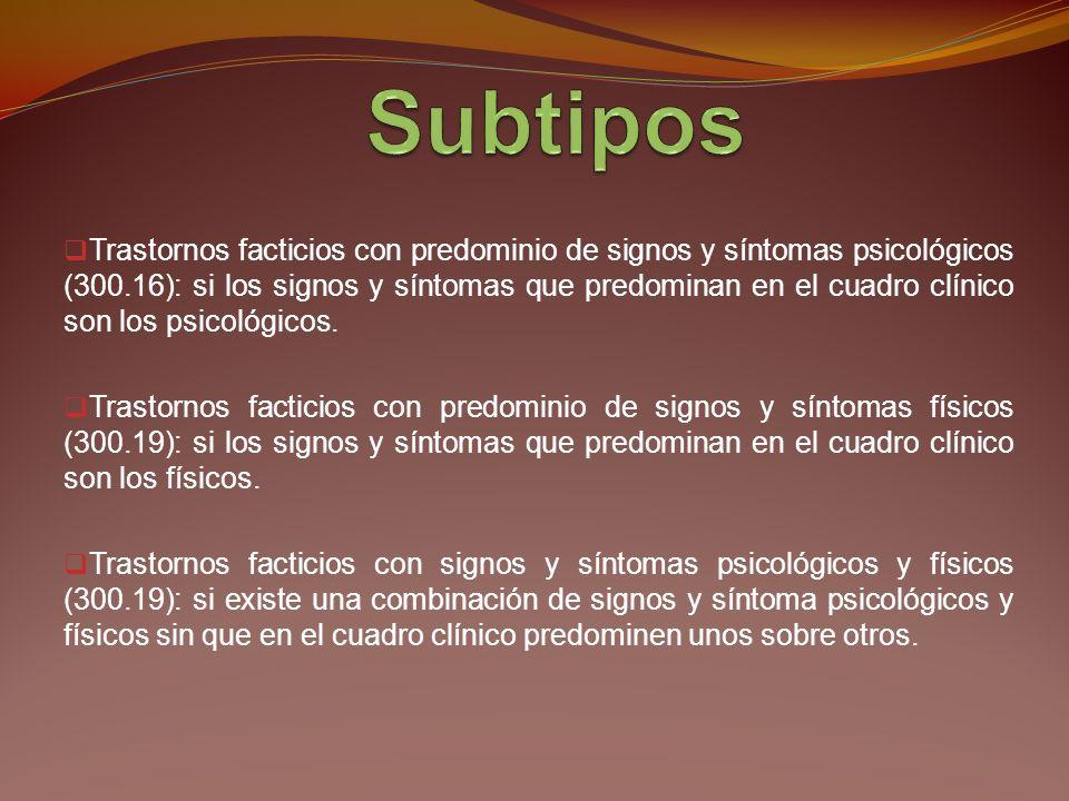 Fingimiento o producción intencionada de signos o síntomas físicos o psicológicos.