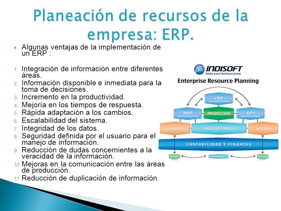 Se puede definir como un sistema de gestión de información estructurado, diseñado para satisfacer la demanda de soluciones de gestión empresarial, que