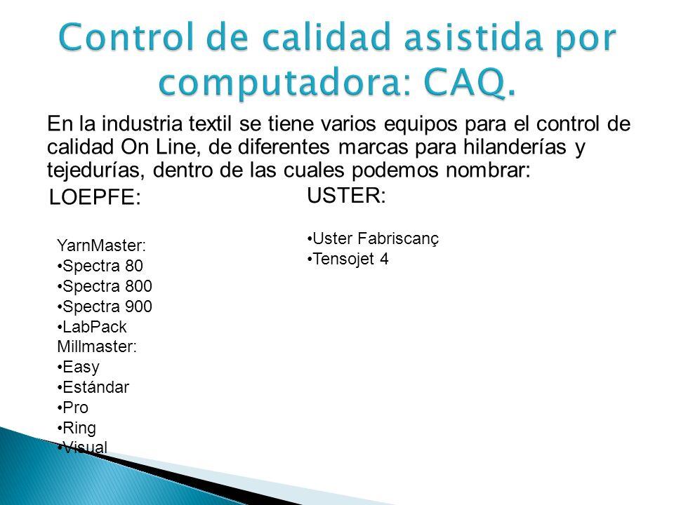 El CAQ tiene como objetivos principales: Ayudar al mejoramiento de la calidad del producto. Incrementar la productividad en el proceso de producción.