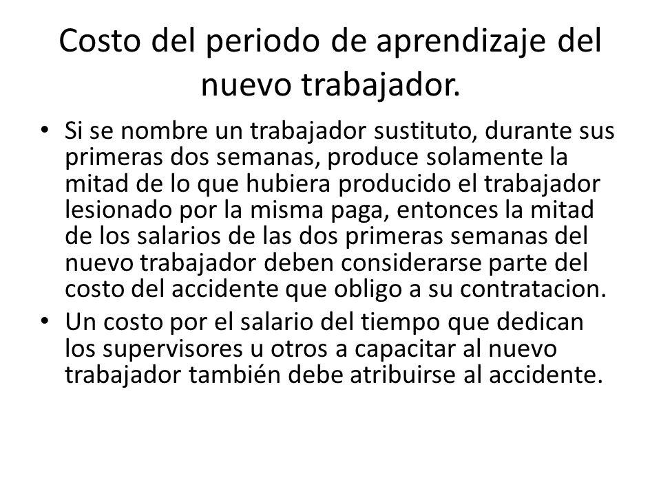 Costo médico no asegurado, cubierto por Ia empresa Por lo general, este costo es el de servicios médicos de enfermería de Ia planta.