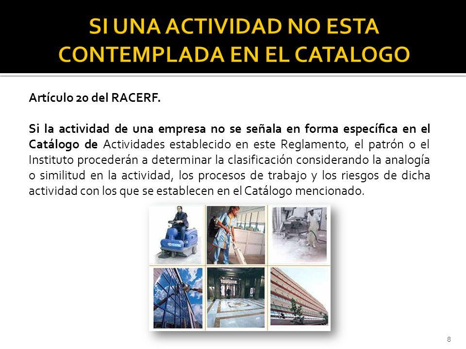 Representante Legal de la Empresa… Registro Patronal… Domicilio… Presente.