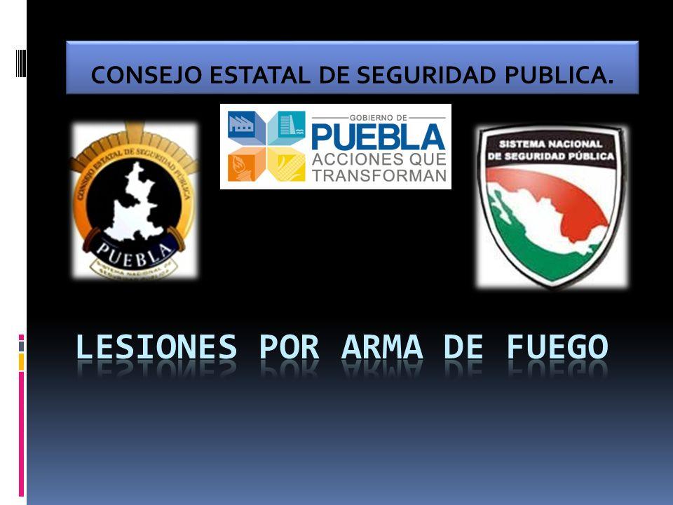 CONSEJO ESTATAL DE SEGURIDAD PUBLICA.