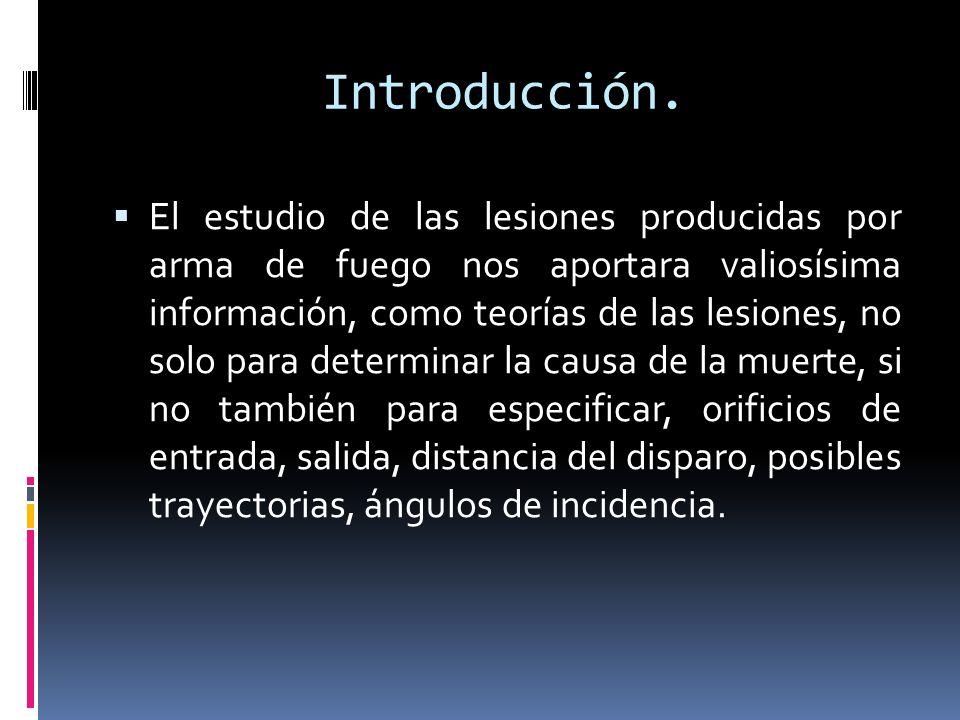 Halo de Contusión El proyectil, previo a perforar la superficie cutánea produce un efecto de contusión como su característica de acción lo indica: contuso-perforante.