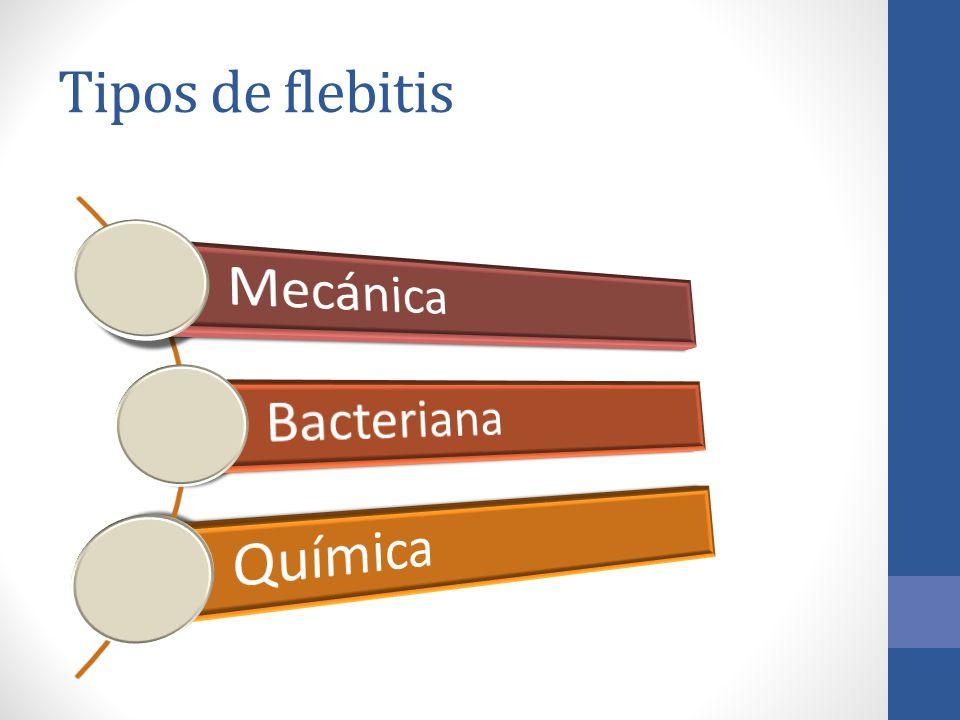 Tipos de flebitis