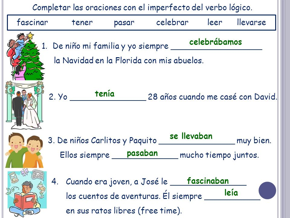 El imperfecto: Los verbos irregulares There are only 3 irregular verbs in the imperfect!!.