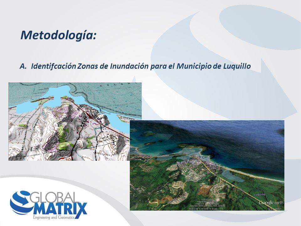 Metodología: A.Identifcación Zonas locales Vulnerables