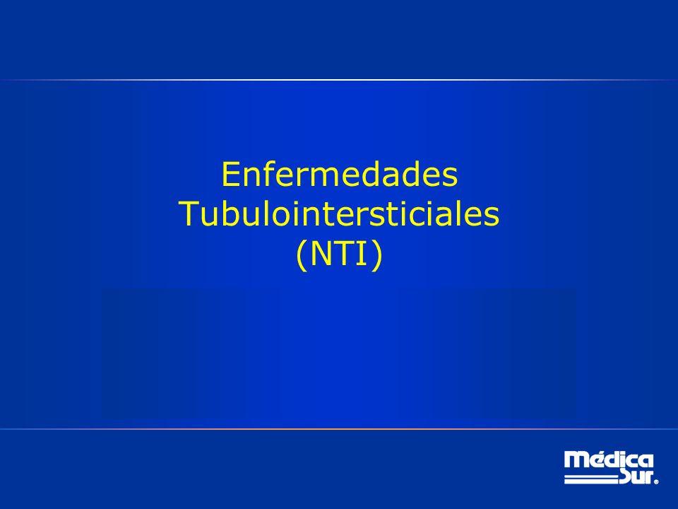 Enfermedades Tubulointersticiales (NTI)