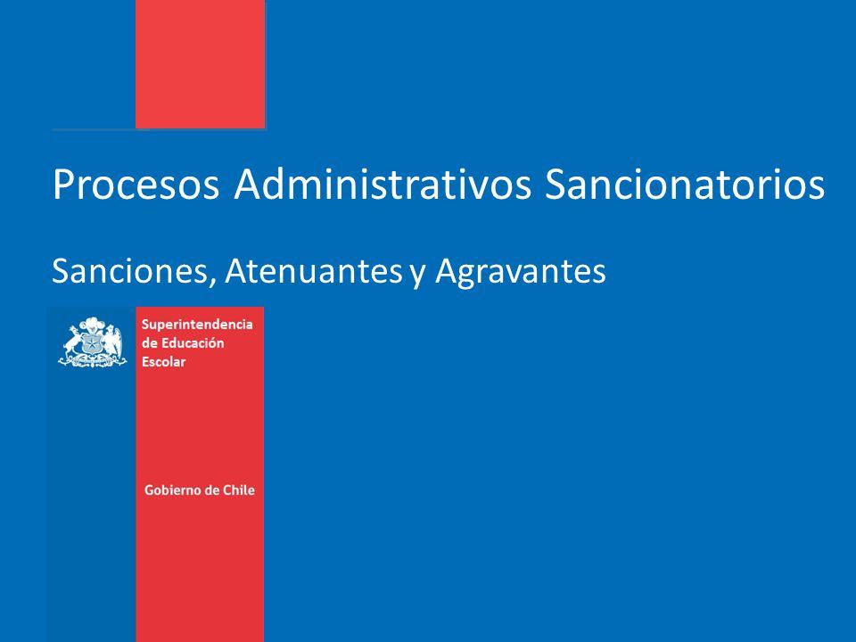 Procedimientos Administrativos de Tramitación Ordinaria Sanciones a)Amonestación por escrito.