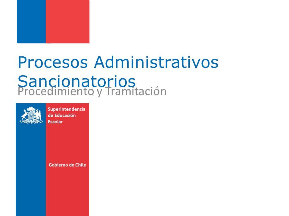 Procedimientos Administrativos de Tramitación Ordinaria Instrucción del Proceso Administrativo Artículo 66.