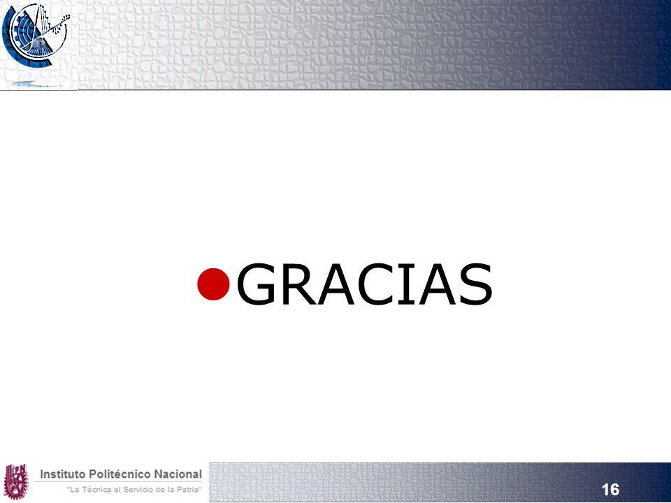 16 GRACIAS