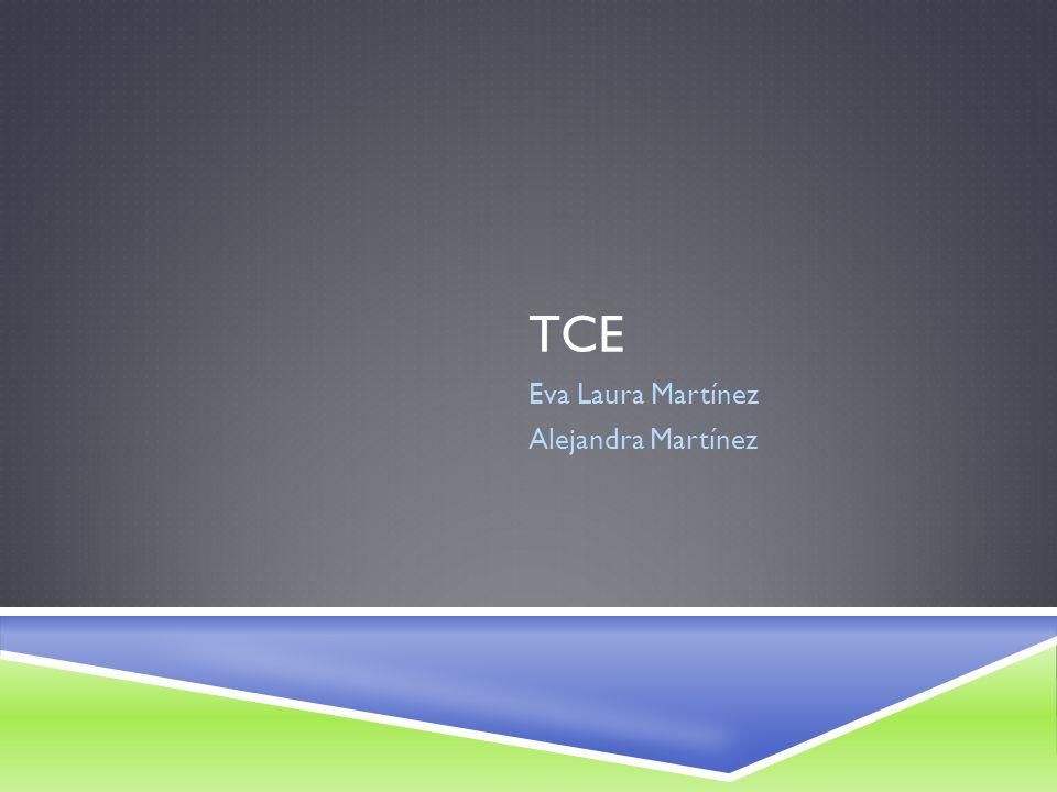 TCE Eva Laura Martínez Alejandra Martínez