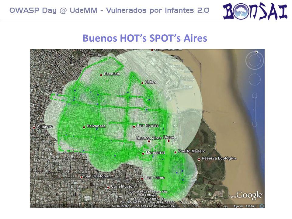 24 OWASP Day @ UdeMM - Vulnerados por Infantes 2.0 Buenos HOTs SPOTs Aires