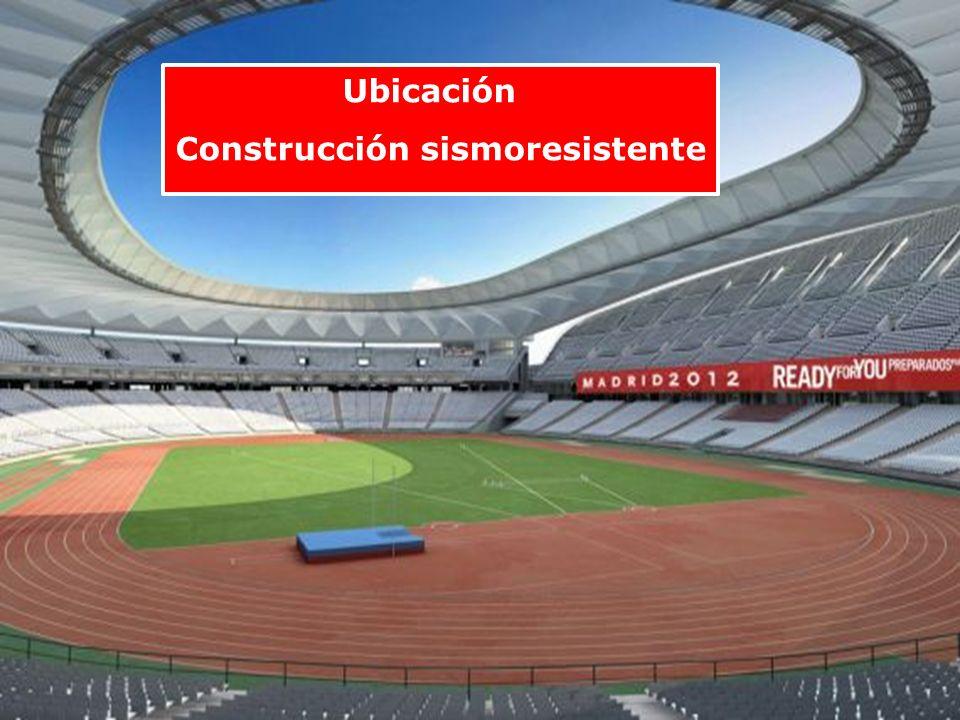 Ubicación Construcción sismoresistente