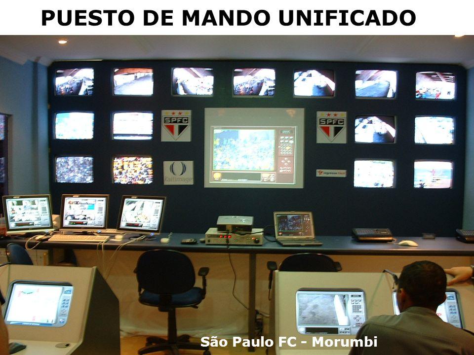 PUESTO DE MANDO UNIFICADO São Paulo FC - Morumbi