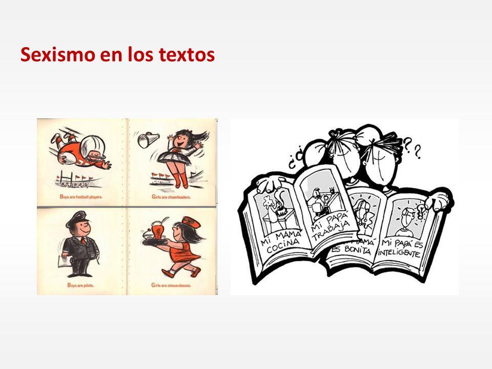 Sexismo en los textos