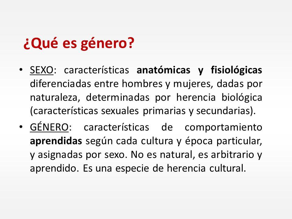 SEXO: características anatómicas y fisiológicas diferenciadas entre hombres y mujeres, dadas por naturaleza, determinadas por herencia biológica (cara