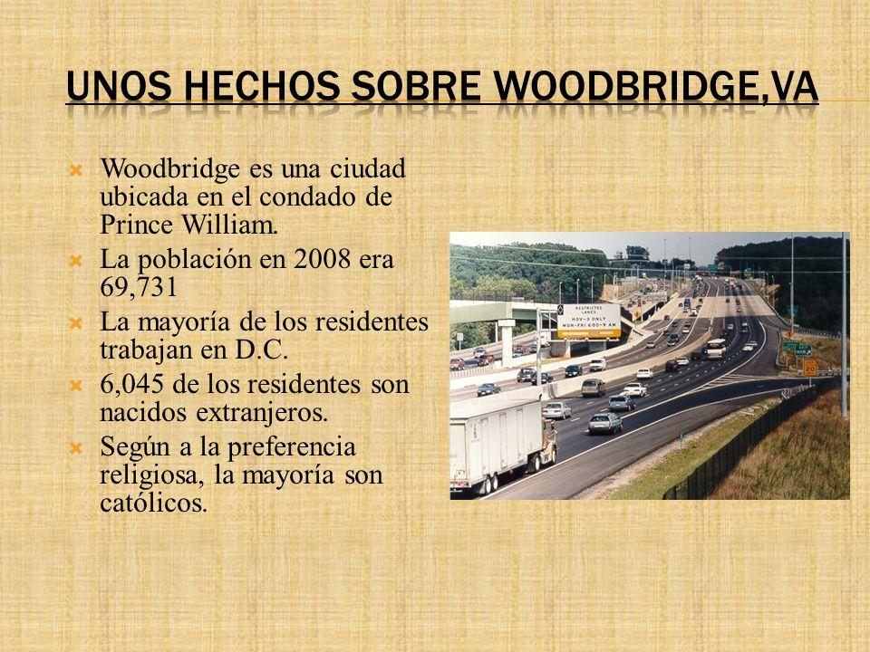 Woodbridge es una ciudad ubicada en el condado de Prince William.