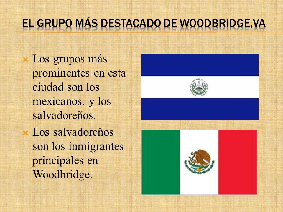 Los grupos más prominentes en esta ciudad son los mexicanos, y los salvadoreños.