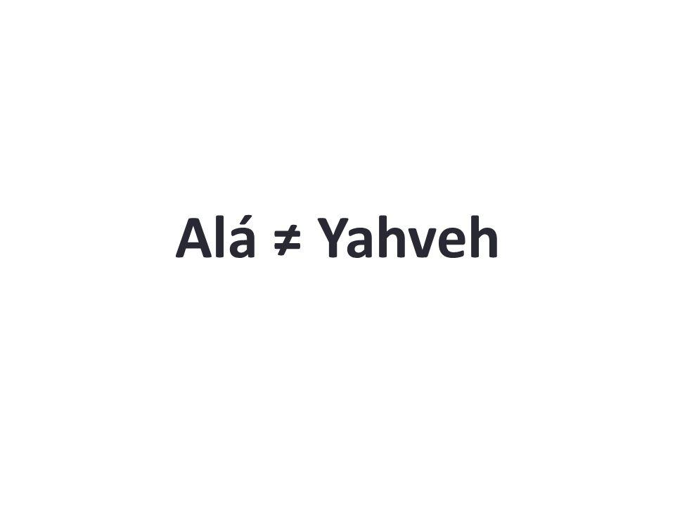 Alá Yahveh
