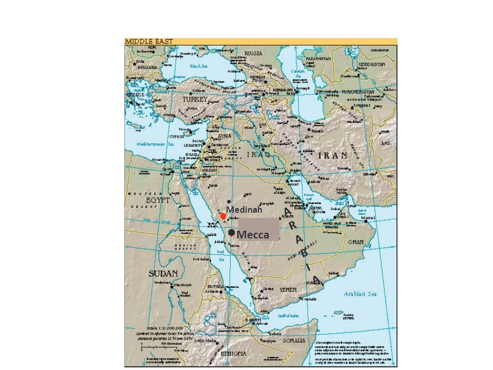 * Mecca Medinah ARABIAARABIA