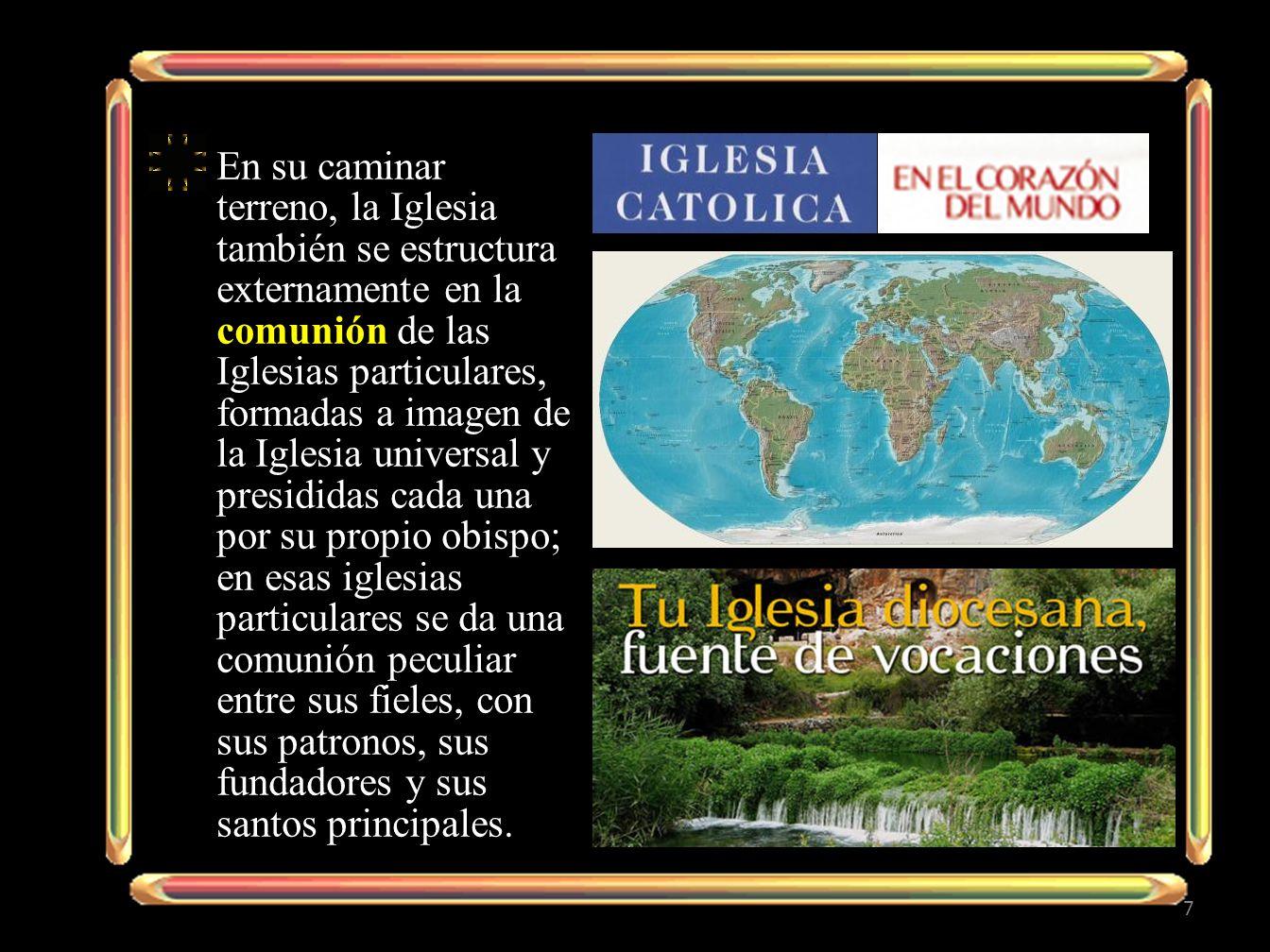 -Es el Vicario de Cristo, -cabeza del colegio de los obispos y -pastor de toda la Iglesia, -sobre la que tiene, -por institución divina, -la potestad plena, -suprema, -inmediata y - universal.