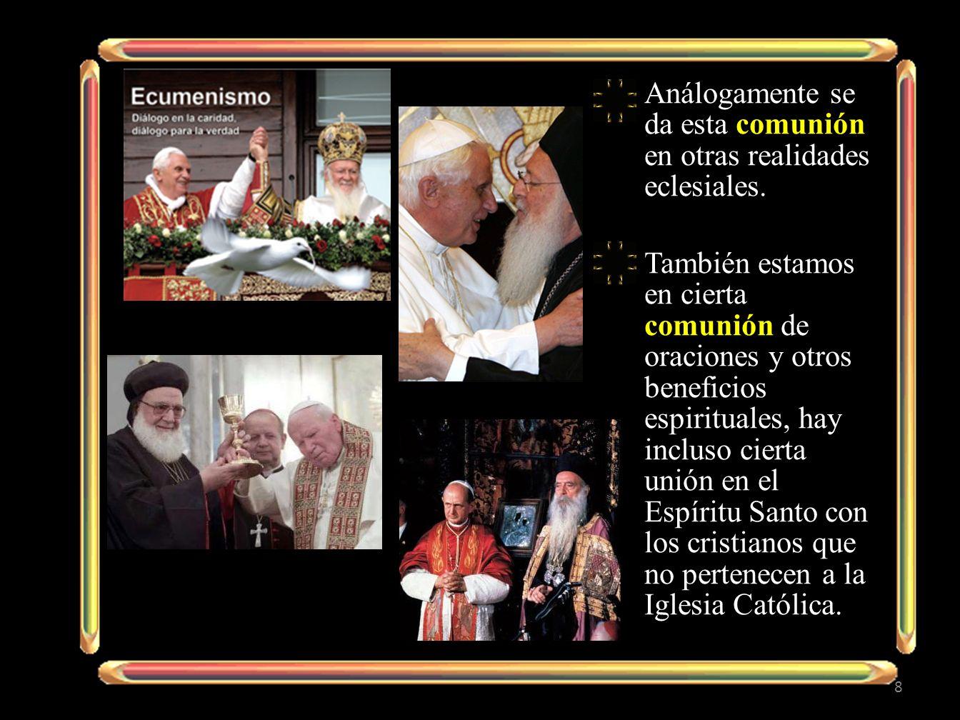 1.1.L A Iglesia es comunión y sociedad.