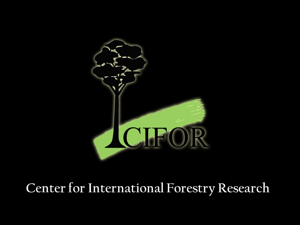 Center for International Forestry Research