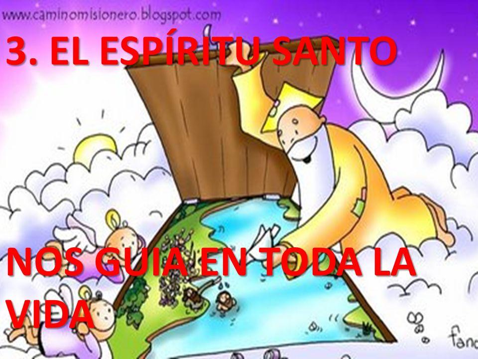 3. EL ESPÍRITU SANTO NOS GUIA EN TODA LA VIDA