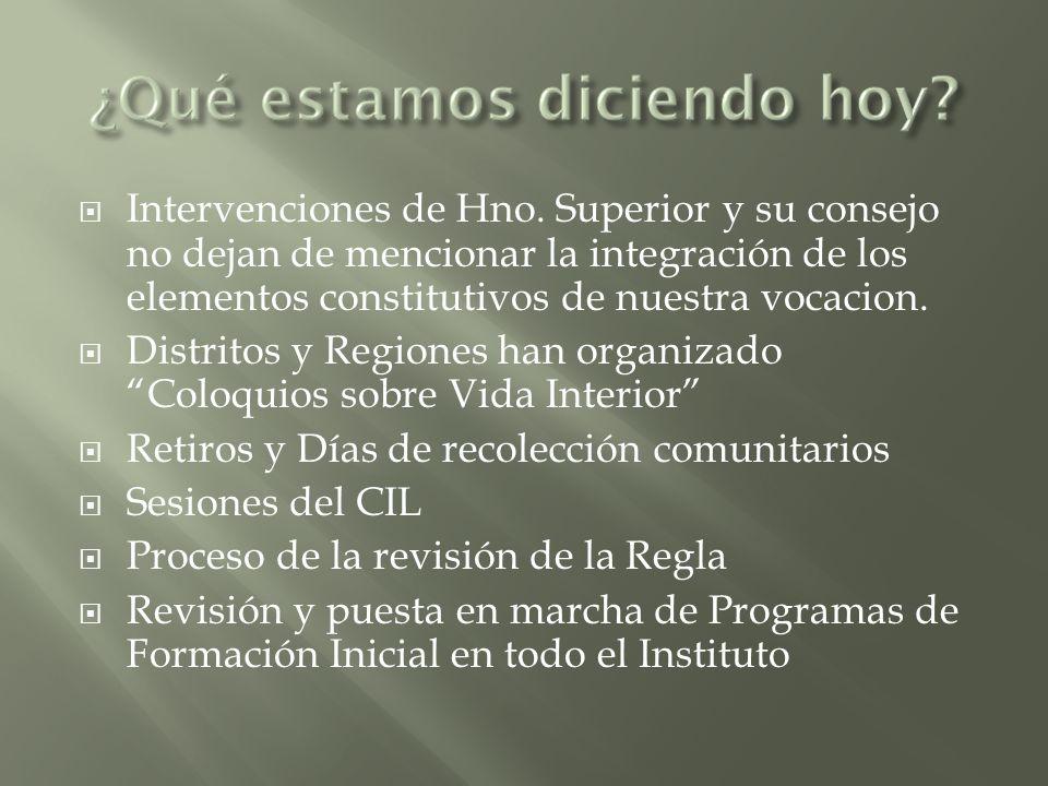 Intervenciones de Hno.