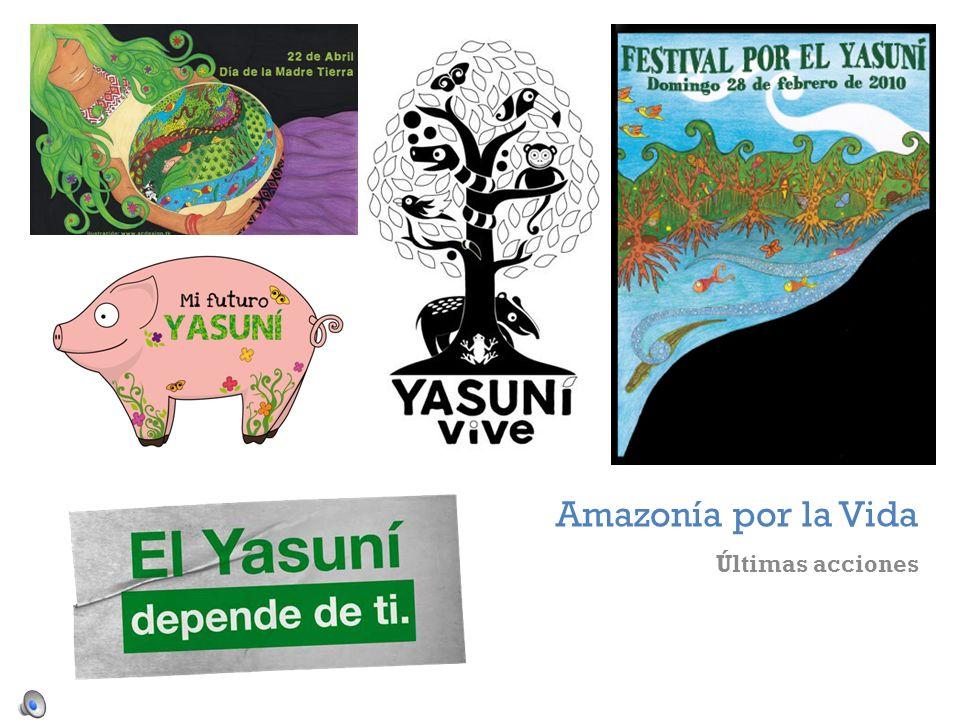 + Amazonía por la Vida Últimas acciones