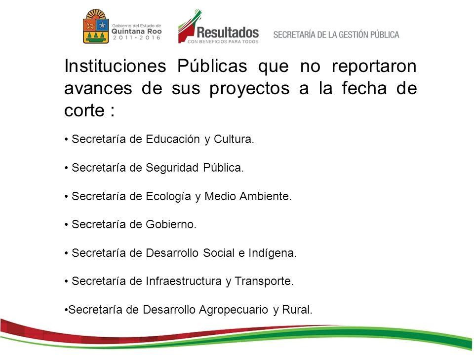 Secretaría de Educación y Cultura. Secretaría de Seguridad Pública.
