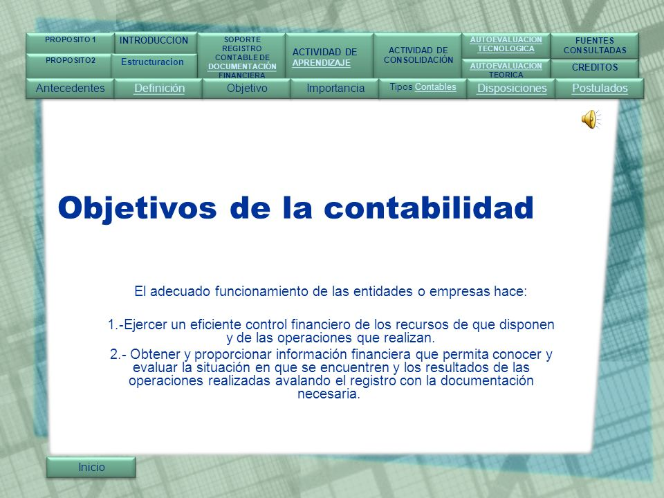 Actividad de Consolidación Inicio INTRODUCCION SOPORTE REGISTRO CONTABLE DE DOCUMENTACIÓN FINANCIERA SOPORTE REGISTRO CONTABLE DE DOCUMENTACIÓN FINANCIERA ACTIVIDAD DE APRENDIZAJE ACTIVIDAD DE APRENDIZAJE ACTIVIDAD DE CONSOLIDACIÓN ACTIVIDAD DE CONSOLIDACIÓN CREDITOS FUENTES CONSULTADAS FUENTES CONSULTADAS AUTOEVALUACION TECNOLOGICA AUTOEVALUACION TECNOLOGICA AUTOEVALUACION TEORICA AUTOEVALUACION TEORICA PROPOSITO 1 PROPOSITO2 Almacenes del norte S.