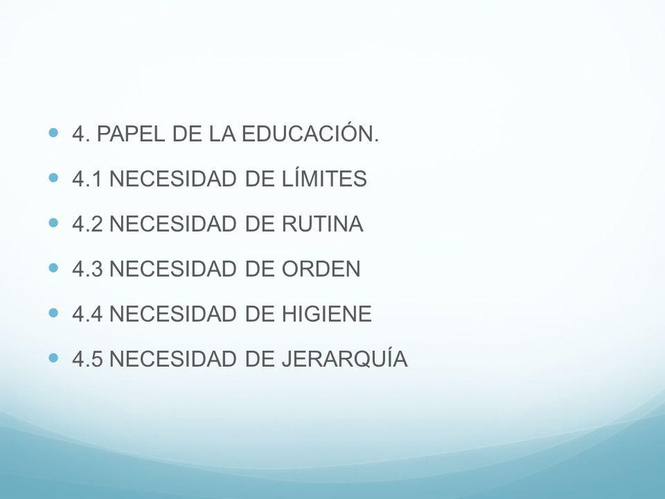 4.PAPEL DE LA EDUCACIÓN.