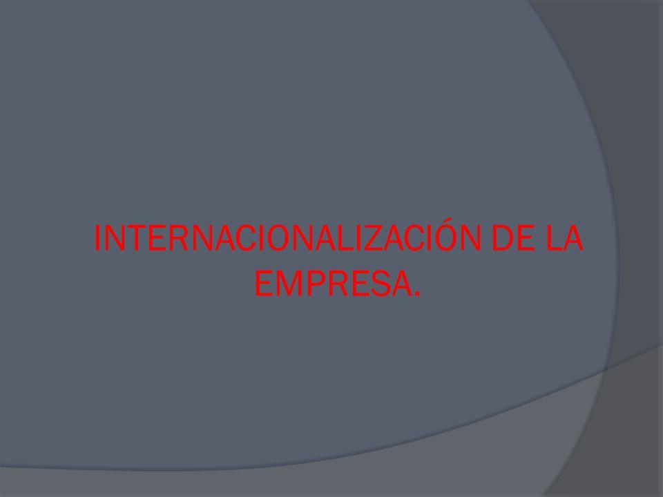 U.E.N 1: DIAGNÓSTICO Y PLAN DE INTERNACIONALIZACIÓN.