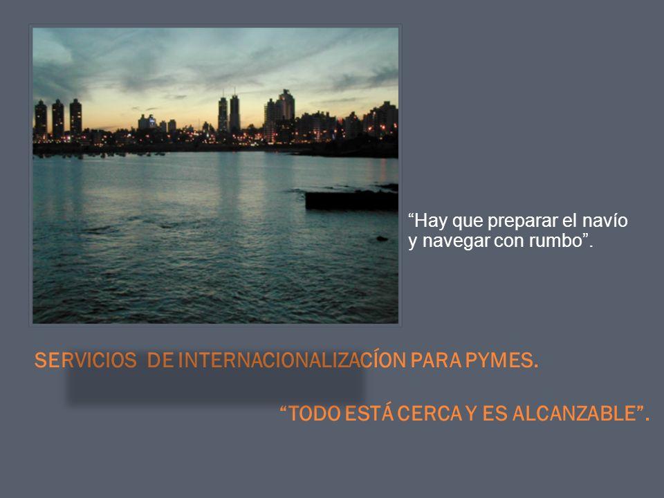 SERVICIOS DE INTERNACIONALIZACÍON PARA PYMES.