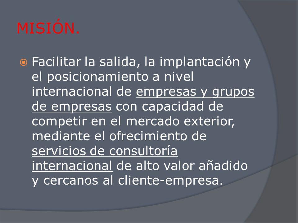 PLANES DE INTERNACIONALIZACIÓN PLANES DE IMPLANTACIÓN INTERNACIONAL SEVILLA.