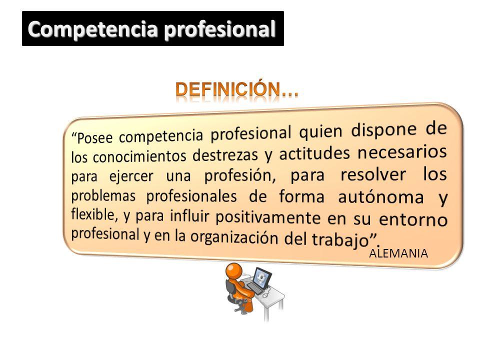 ALEMANIA Competencia profesional