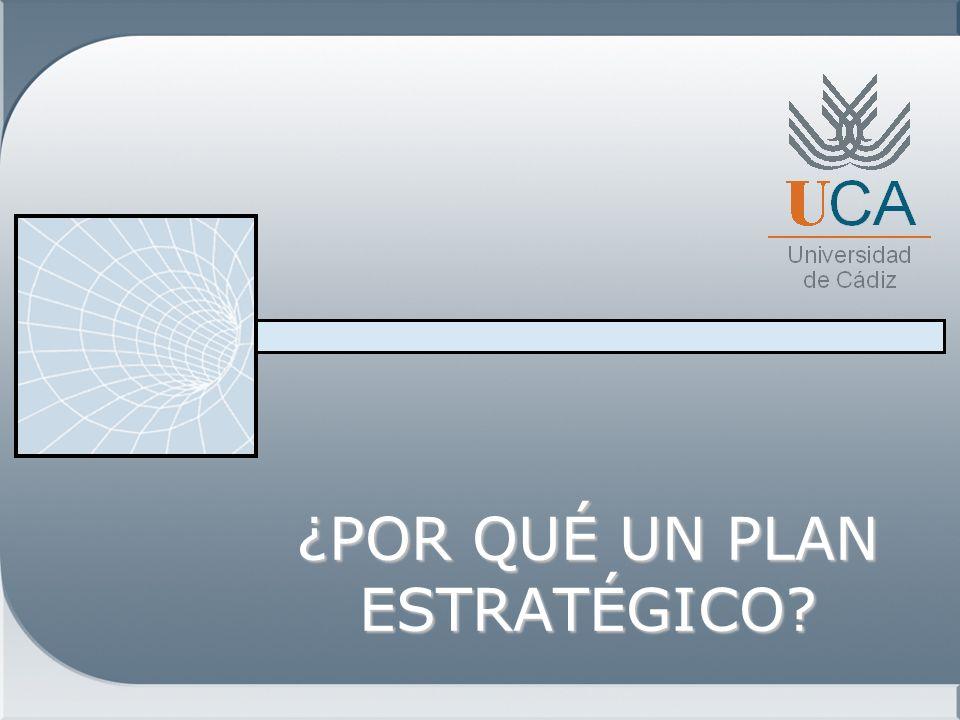 Respuesta de la Universidad Elaborar un Plan Estratégico con participación de la Comunidad Universitaria y agentes externos implicados.