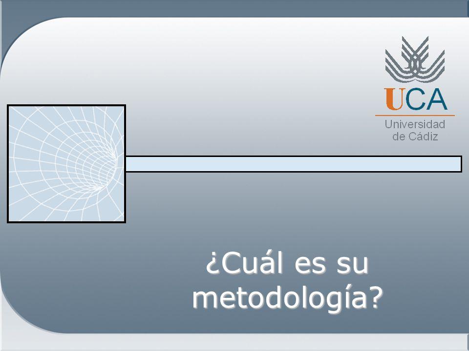 ¿Cuál es su metodología