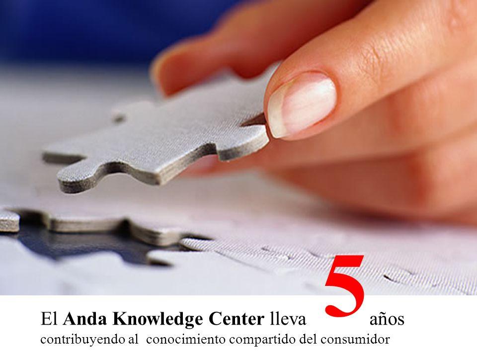El Anda Knowledge Center lleva años contribuyendo al conocimiento compartido del consumidor 5