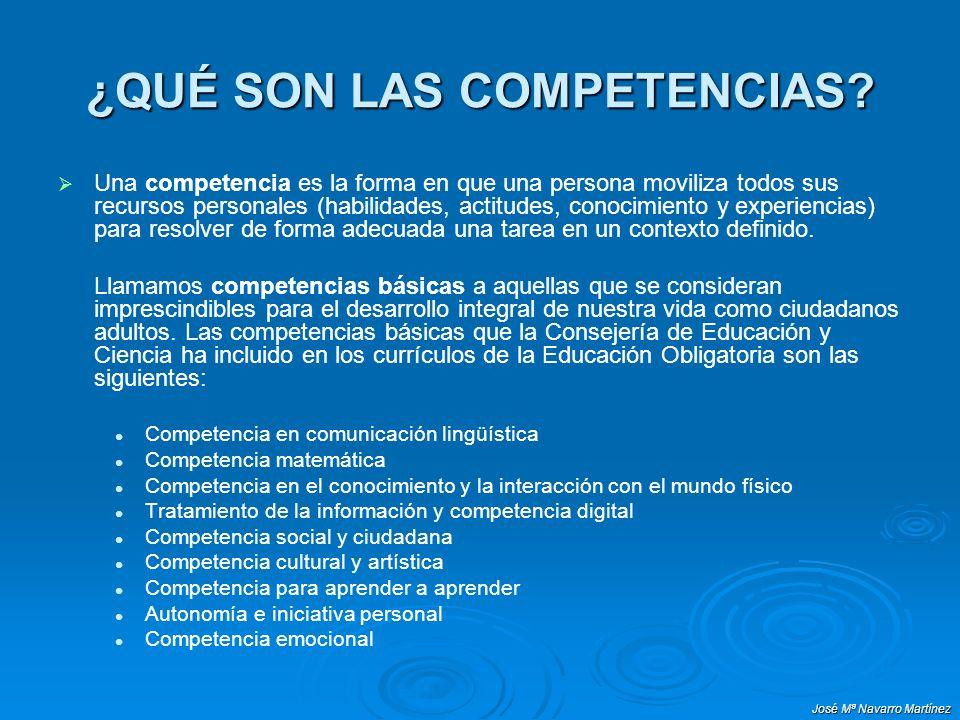 José Mª Navarro Martínez GUÍA PARA LA ELABORACIÓN DE LA PROGRAMACIÓN GENERAL ANUAL (Tabla II) Objetivos generales de área Contenidos 1 Criterios de evaluación Competencias 1.