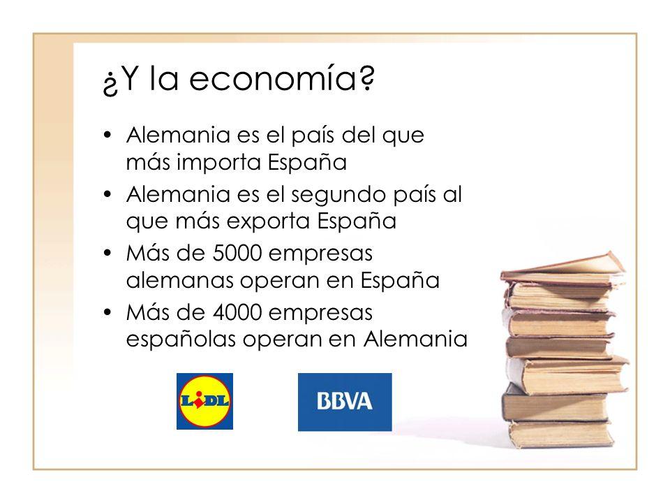 ¿Y la economía.