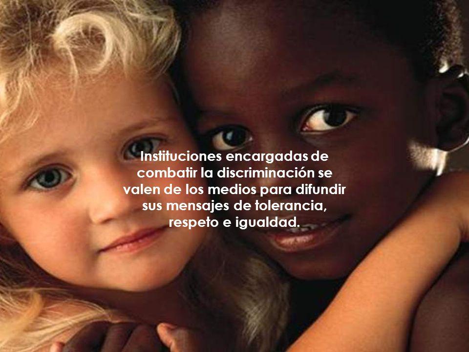 En la actualidad hay instituciones que se encargan del tema como: DGIDS.- Dirección General de Igualdad y Diversidad Social.