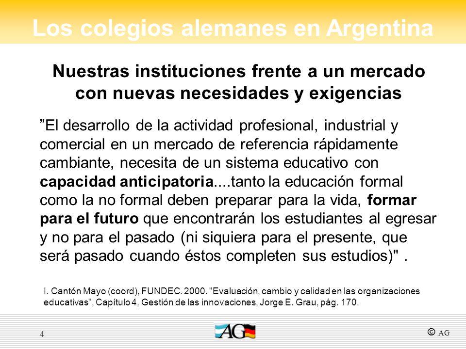 4 Nuestras instituciones frente a un mercado con nuevas necesidades y exigencias El desarrollo de la actividad profesional, industrial y comercial en