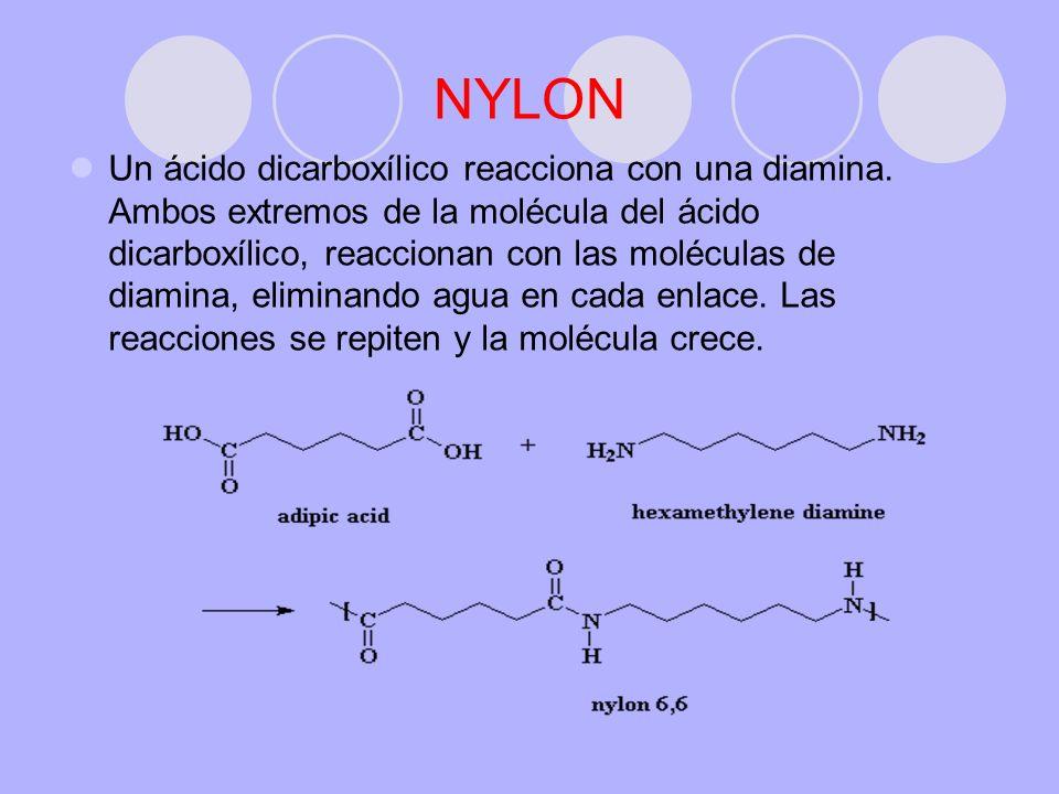 NYLON 66 Es una de las fibras sintétcas más importantes.